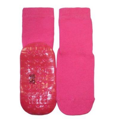 Ewers antislip socks pink