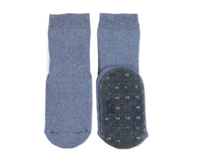 Ewers antislip socks denim blue
