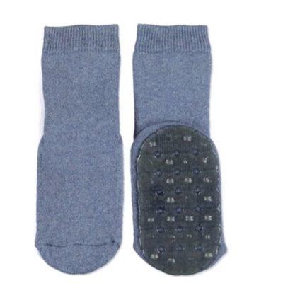 Ewers antislip socks denim blue