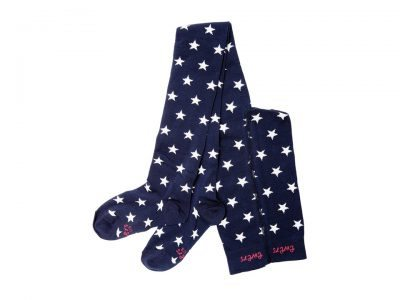 Tights Stars Blue Ewers Little Department Store