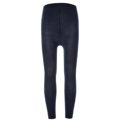 Legging Blue Ribbed Ewers Little Department Store