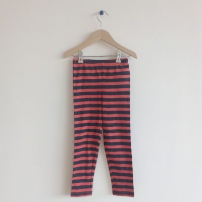Nadadelazos Leggings Red Stripes