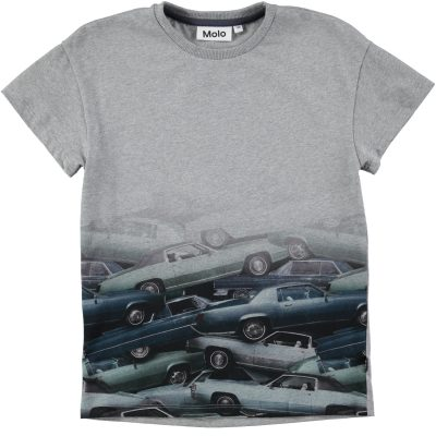 Shirt Ruis Fading Stacked Cars
