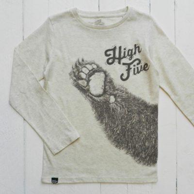 Sweatshirt Bear Oatmeal Melange