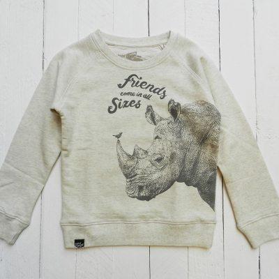 Sweatshirt Rhino Oatmeal Melange