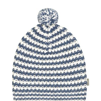 Sidney Hat white blue