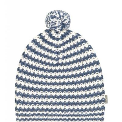 Sidney Hat white blue