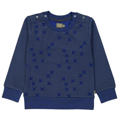 Jonathan organic sweater dark green from Kidscase