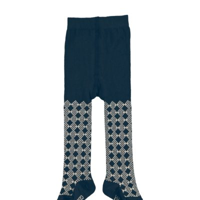 Snow organic tights dark blue