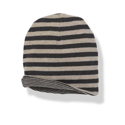 Bon reversible beanie anthracite