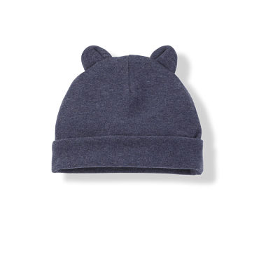 Sune Bonnet with ears blue