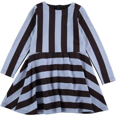 Dress Carmen Denim Stripe