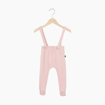 Baby Suspender Pants Powder Pink