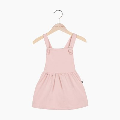 Dungaree Dress Powder Pink