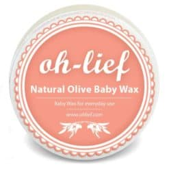 Oh-lief Natural Olive Baby Wax