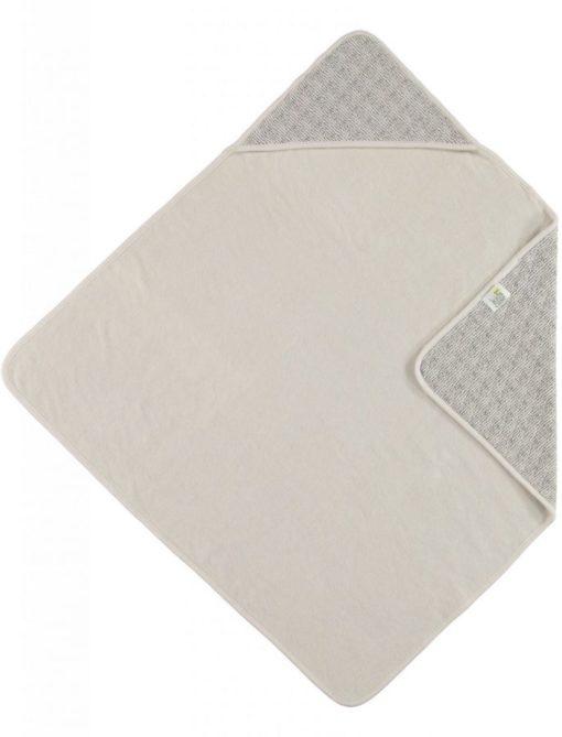 Lux printed wrapcape sand