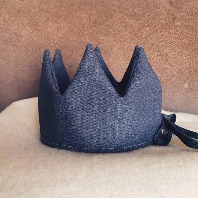 Anthracite linen Crown