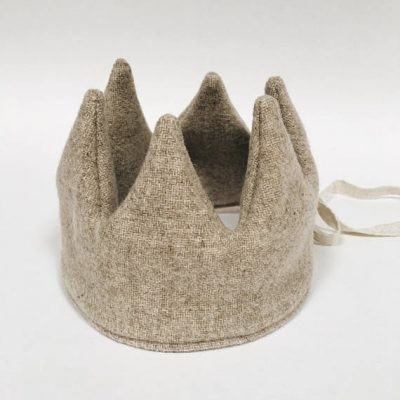 Natural Wool Crown