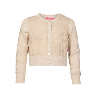 Le Big Iris Cardigan Gold