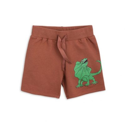 Mini Rodini Draco Sweatshorts Brown
