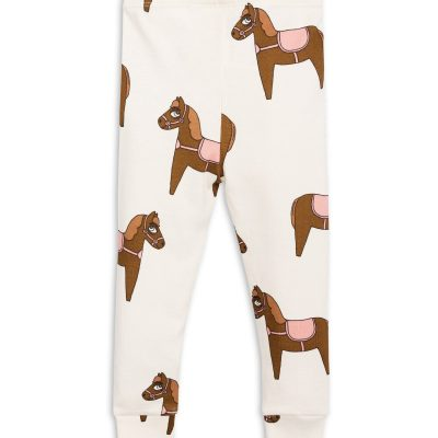 Mini Rodini Horse leggings Pink