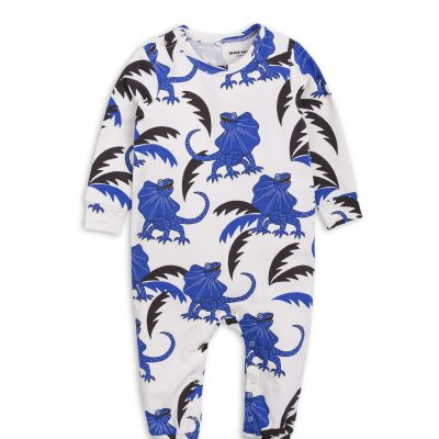 Mini Rodini Draco jumpsuit blue