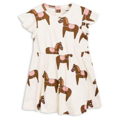 Mini Rodini Horse dress pink