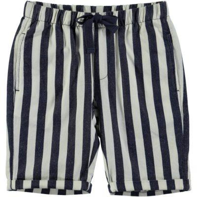 Molo short Artis Indigo Stripe