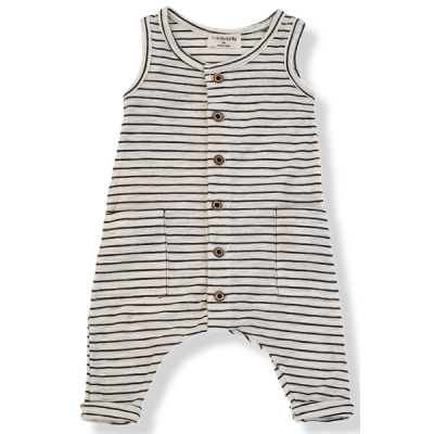 Mondrian jumpsuit blu notte - 1+ in the family