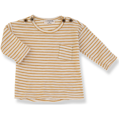 Renoir long sleeve t-shirt mustard - 1+ in the family