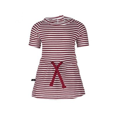 nOeser Pien dress stripe red