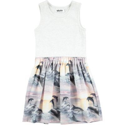 Molo Dress Colleen Dolphin Sunset