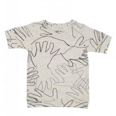 Kidscase Alf jersey organic t-shirt off-white