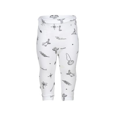 nOeser Levi legging symbols Feather white