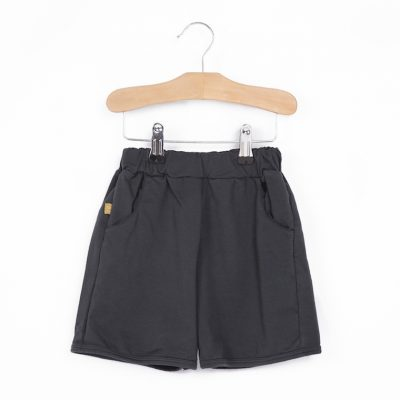 Lotiekids Oversized Shorts Washed Black