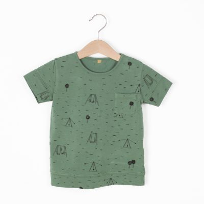 Lotiekids T-shirt Swings Park Pine Green