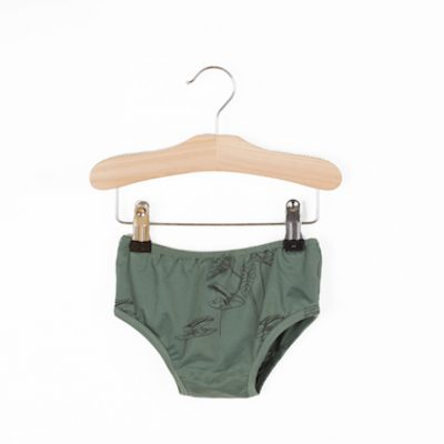 Lotiekids Swimming bottom Frogs Pine Green
