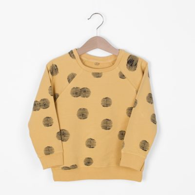 Lotiekids Sweatshirt Sunset Light Ochre