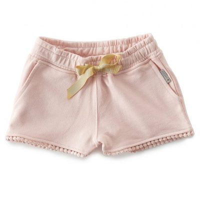 Little Label - Fancy sweat shorts cotton candy pink