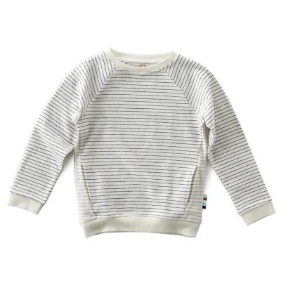 Little Label - sweater stripes almost black