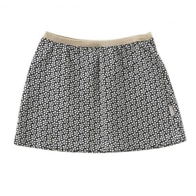 Little Label skirt black spots