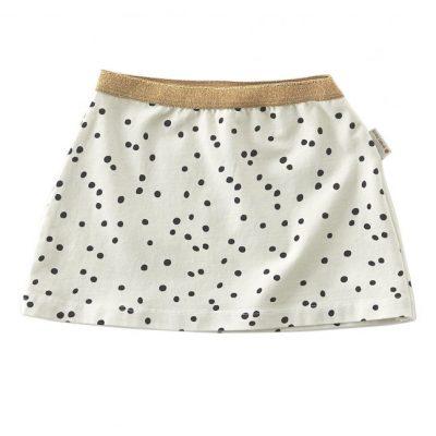Little Label skirt black specks