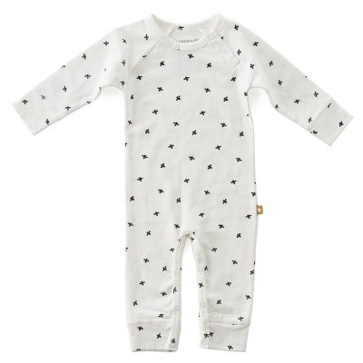 Little Label - Babysuit black bees