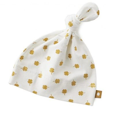 Little Label - Babyhat brown clover