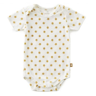 Little Label - Romper brown clover