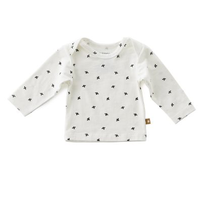Little Label - Shirt long sleeves black bees