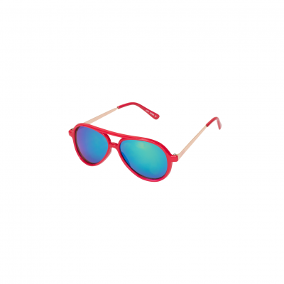 Le big Joleen Sunglasses Fluor Pink