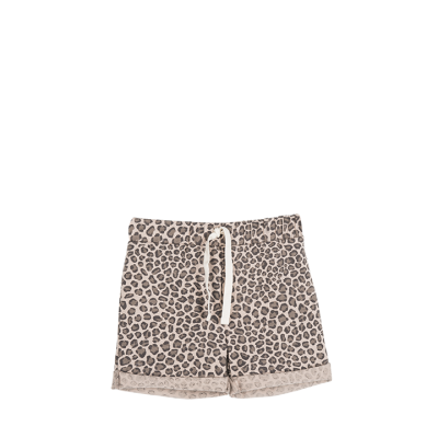 House of Jamie Summer shorts Caramel Leopard