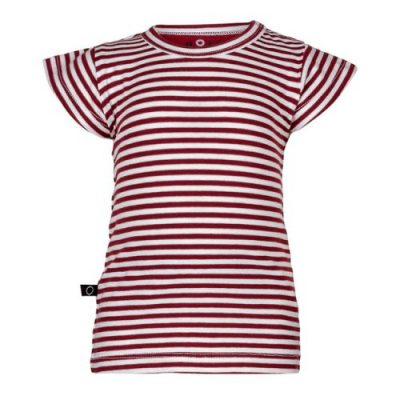 nOeser Ted t-shirt frill stripe red