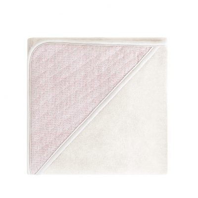 Lux printed wrapcape sand soft pink - Home by Door